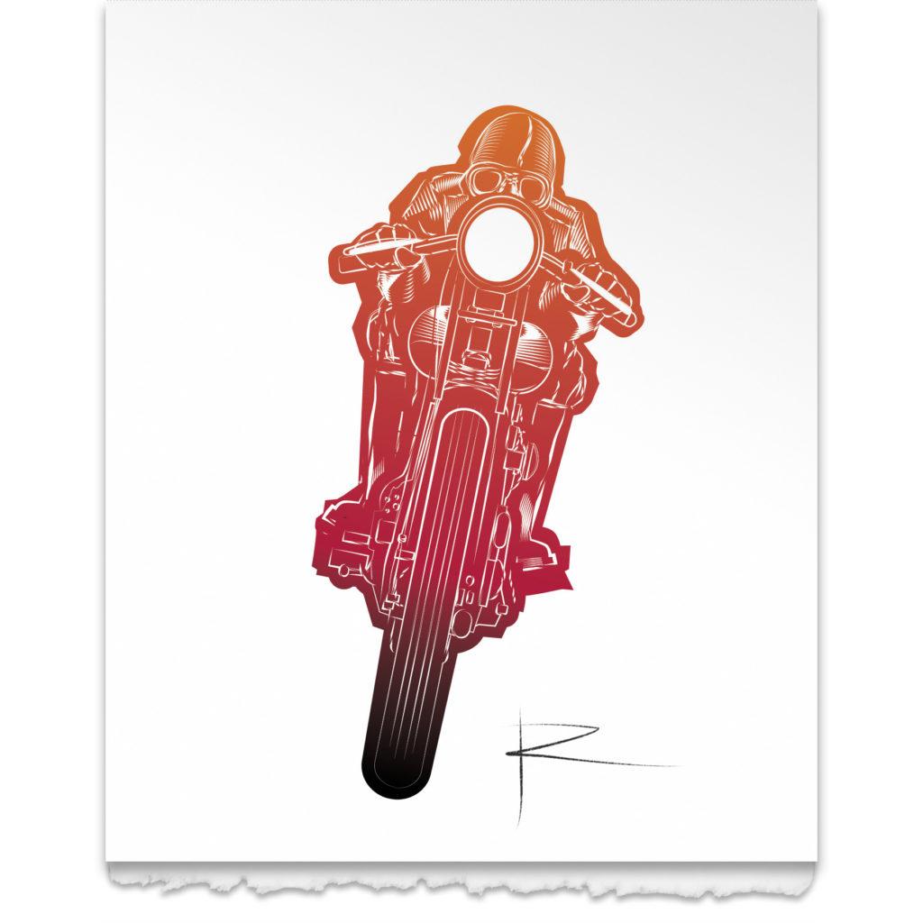 Lone Rider - Red Rage