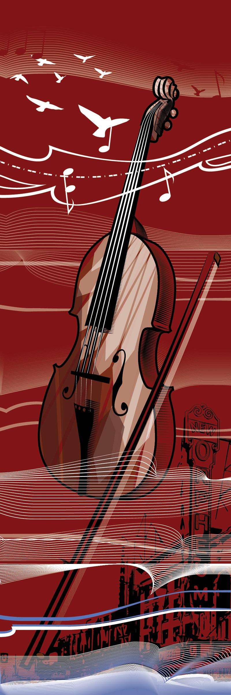 Forgotten City: Violin print