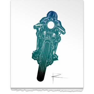 Lone Rider - Big Blue Spanish Sky